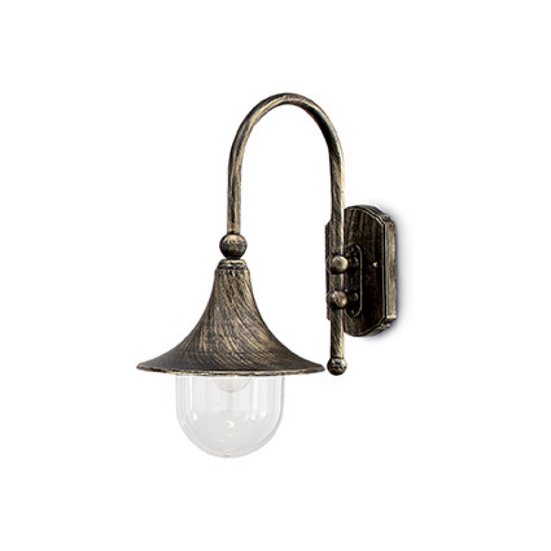 Ceiling - wall lamp CIMA AP1 Black & Gold