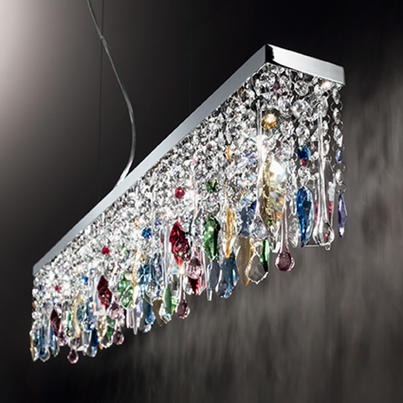 chandeliers GIADA COLOR SP7 Chrome
