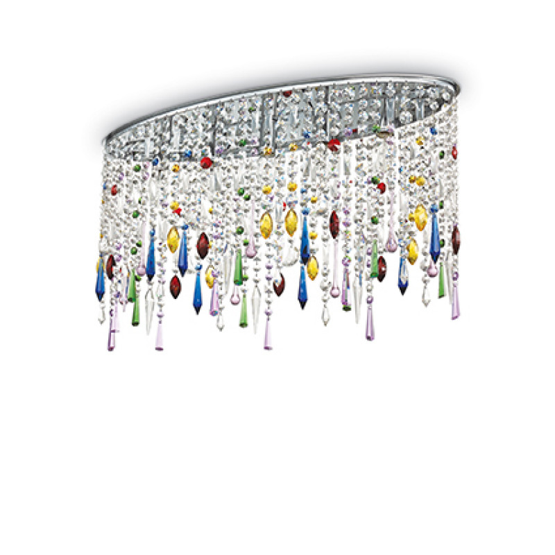 Ceiling lamp RAIN COLOR PL5 Chrome