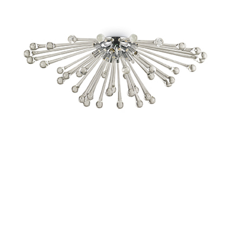 Ceiling lamp PAULINE PL5 Smoked Glass