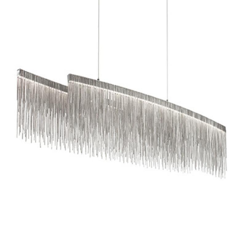 chandeliers VERSUS SP216 Oval Chrome