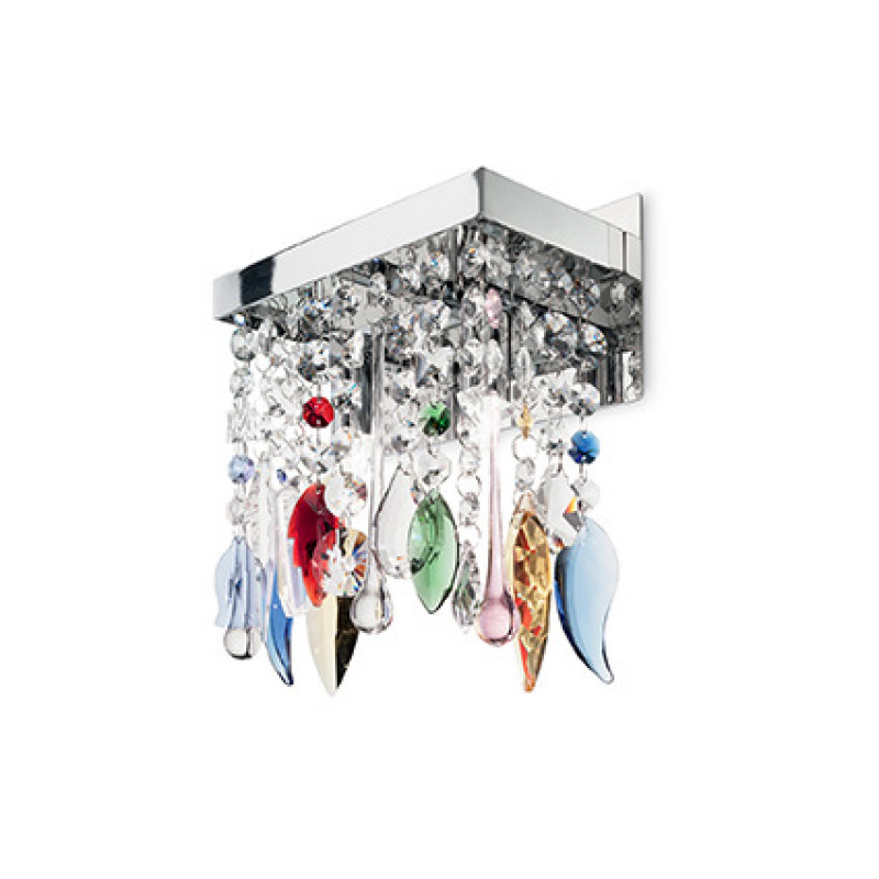 Wall lamp GIADA COLOR AP2 Chrome
