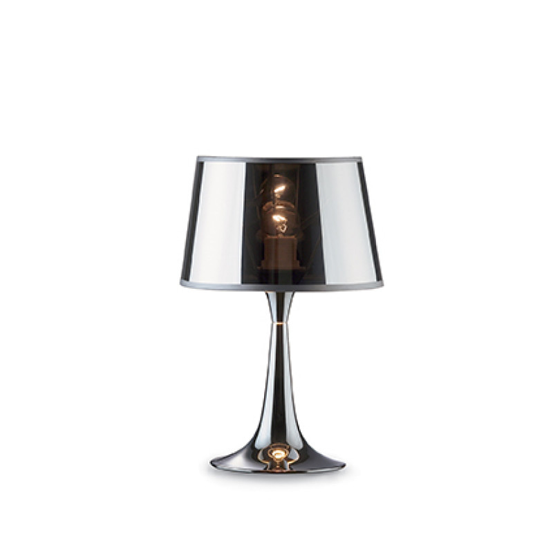 Table lamp LONDON CROMO TL1 Chrome Small