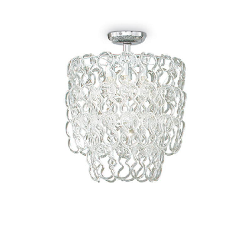 Ceiling lamp ALBA PL7 Chrome