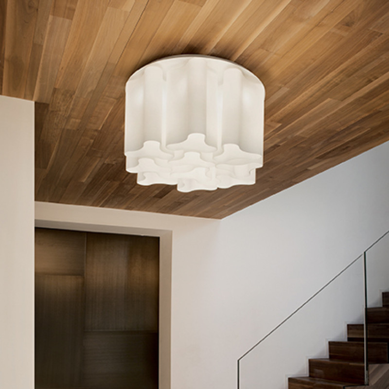 Ceiling lamp COMPO PL6 White