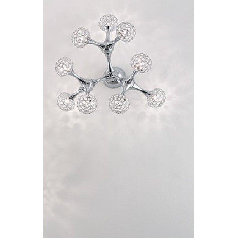 Ceiling lamp NODI CRYSTAL PL9 Chrome