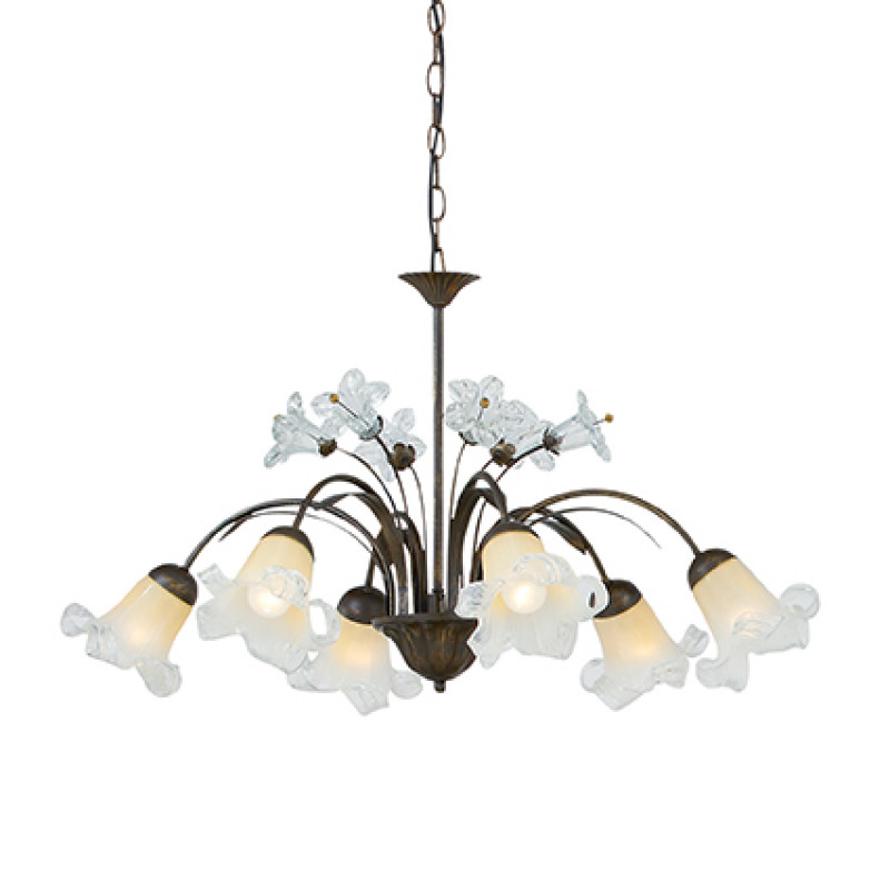 Chandelier TIROL SP6 Rust