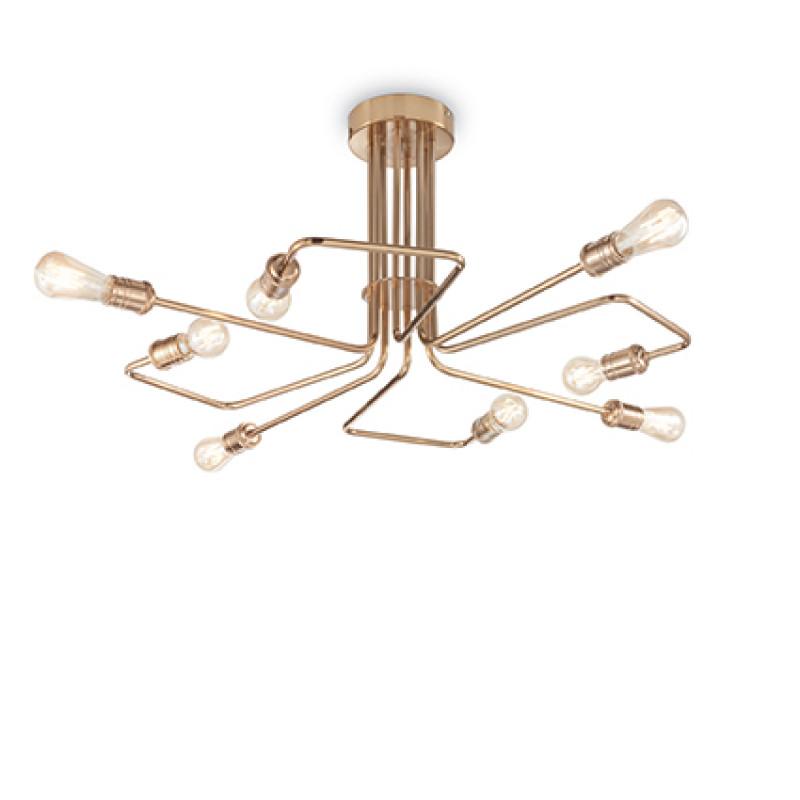 Ceiling lamp TRIUMPH PL8 Brass