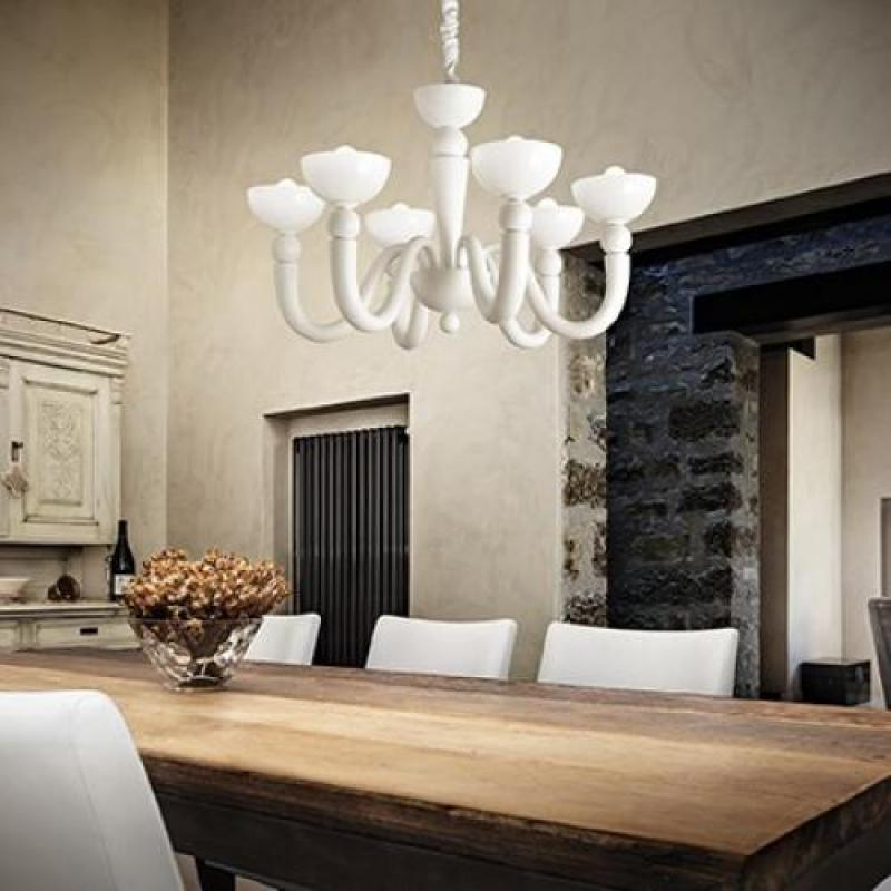 Chandelier BON BON SP8 White