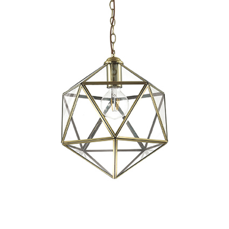Pendant lamp DECA SP1 Big Antique Brass