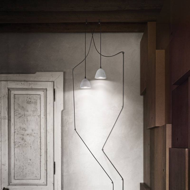 Pendant lamp OIL-4 SP1 Concrete