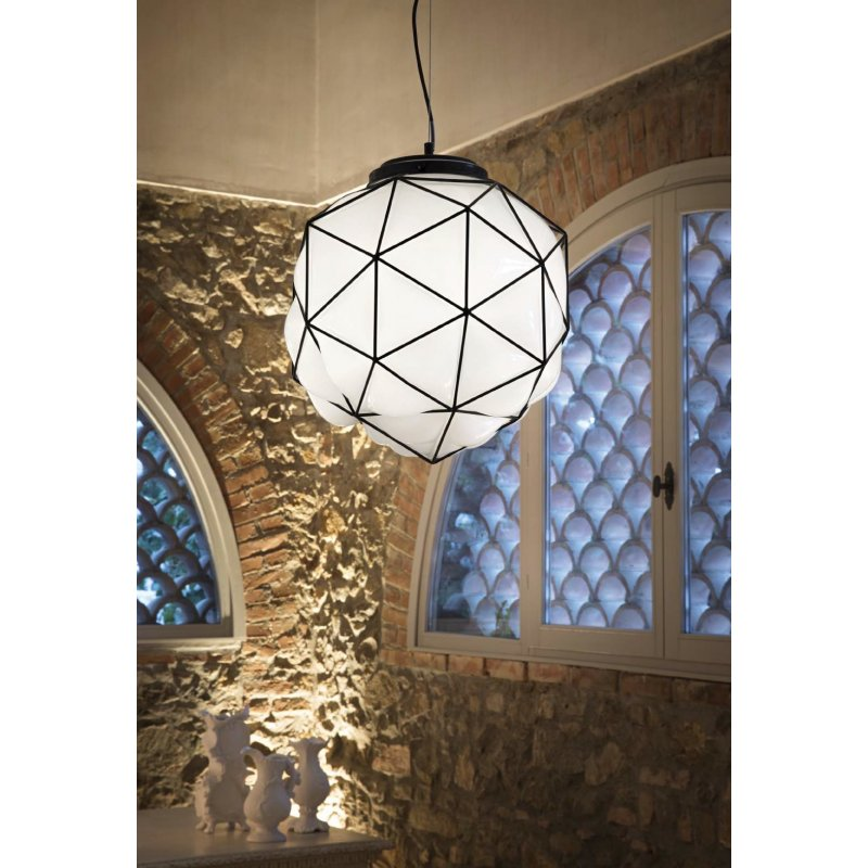 Pendant lamp MAGLIE SP1 D45 White