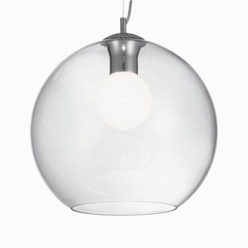 Pendant lamp NEMO CLEAR SP1 D40 Chrome