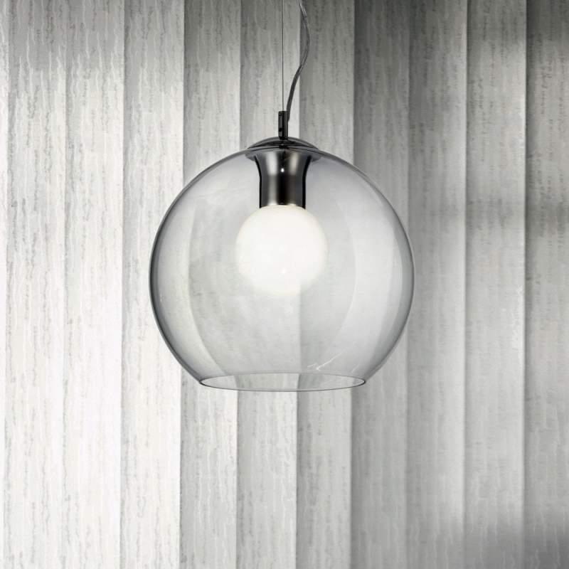 Pendant lamp NEMO CLEAR SP1 D30 Chrome