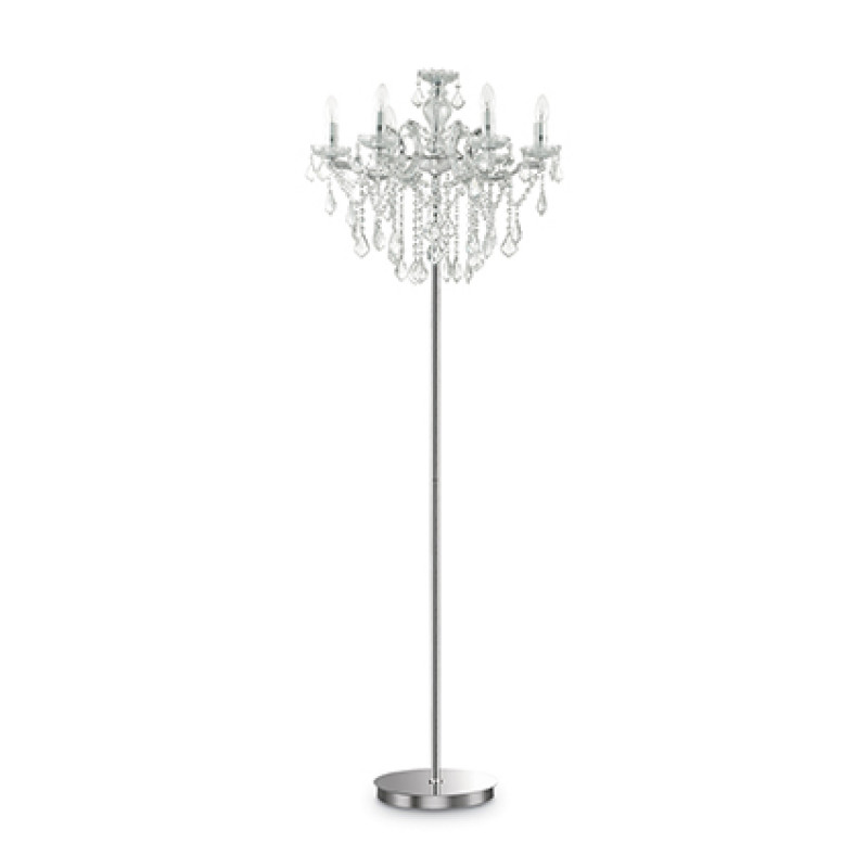 Floor lamp FLORIAN PT6 Chrome