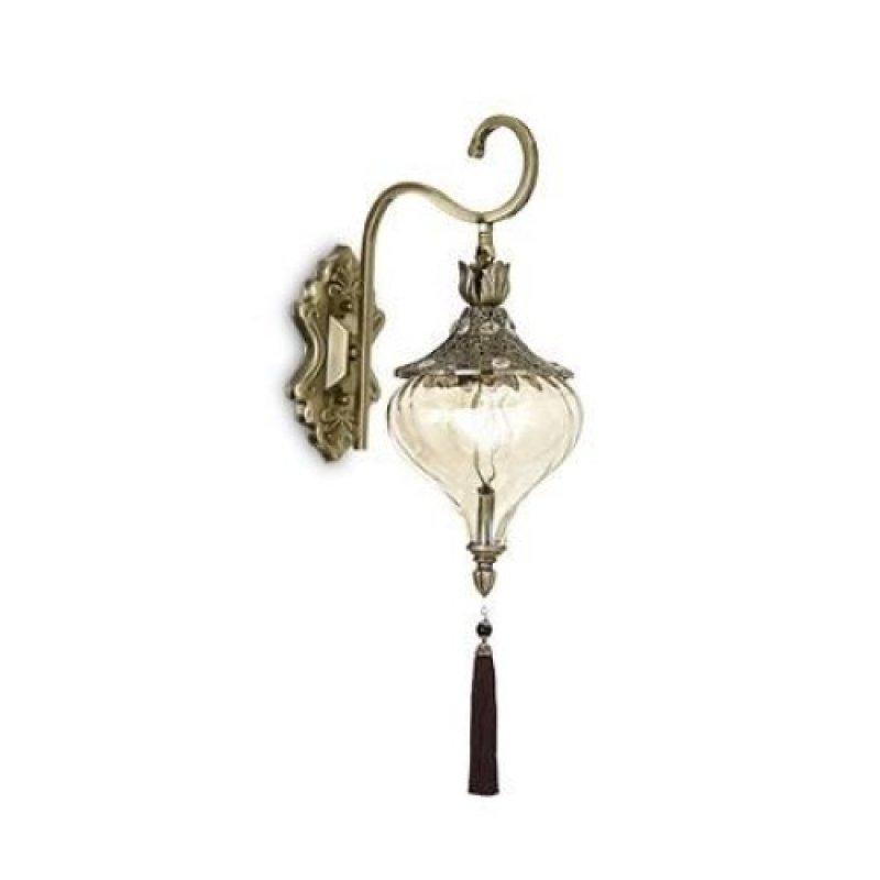 Wall lamp HAREM AP1 Antique Brass