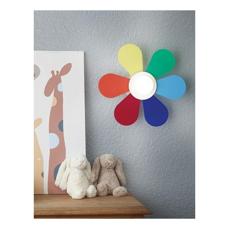 Wall lamp FLOWER AP1 D50 Colorful