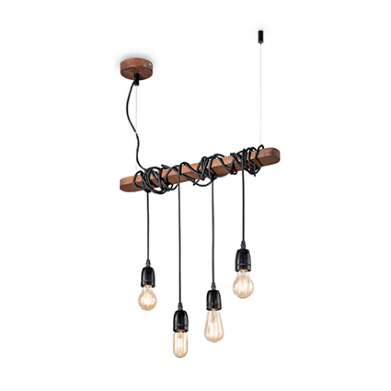 Pendant lamp ELECTRIC SP4 Corten