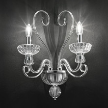Wall lamp ALEXANDER AP2 Transparent