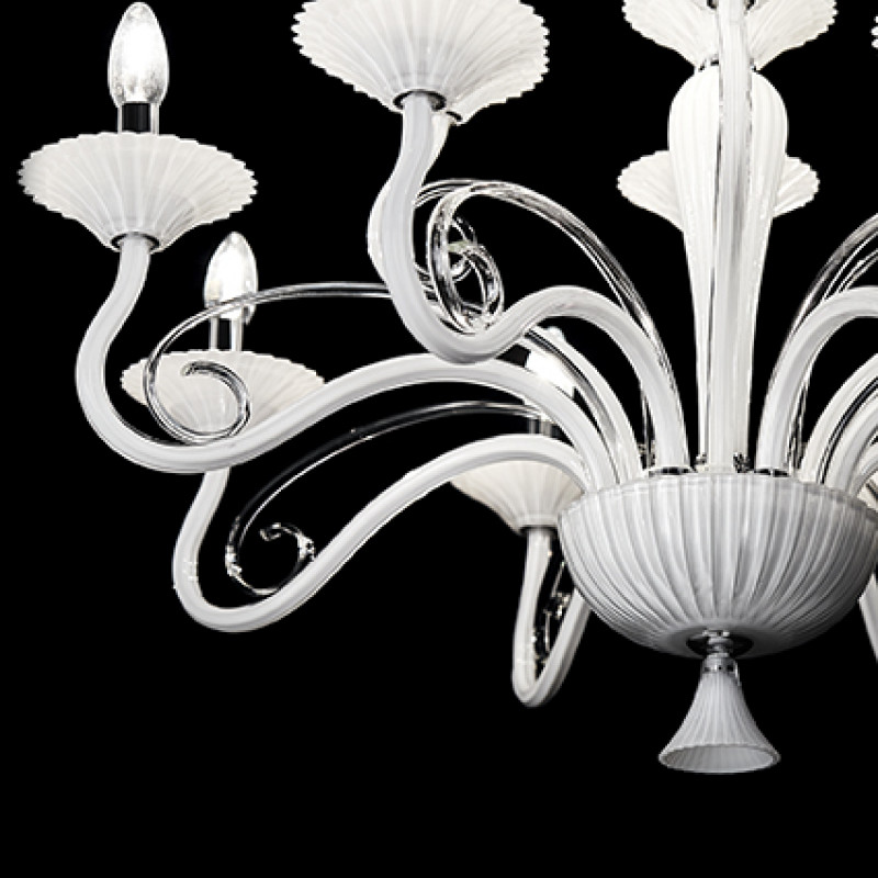 Chandelier MAXIMILIAN SP8 White