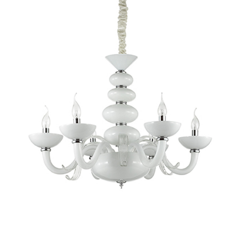Chandelier PRAGA SP6 White