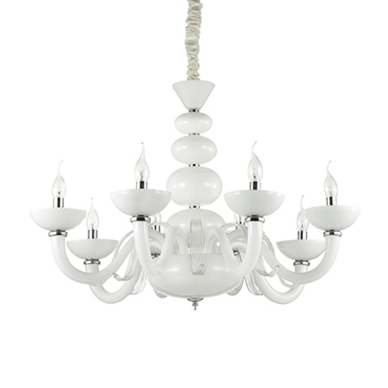 Chandelier PRAGA SP8 White