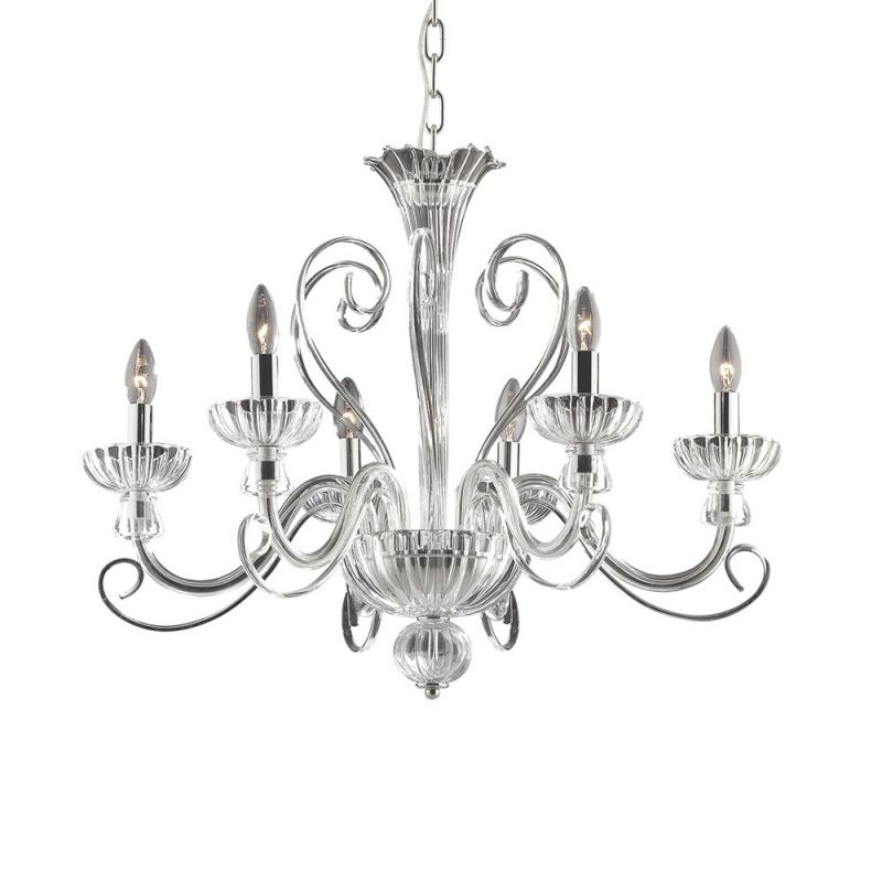 Chandelier ALEXANDER SP6 Transparent