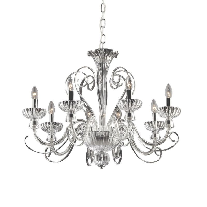 Chandelier ALEXANDER SP8 Transparent