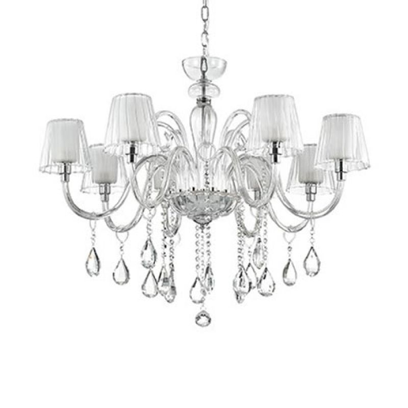Chandelier TERRY SP8 Transparent