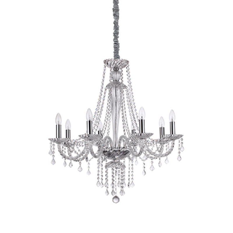 Chandelier AMADEUS SP8 Transparent