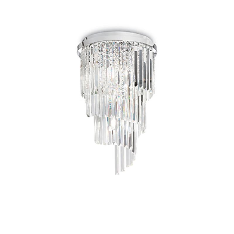 Ceiling lamp CARLTON PL8 Chrome