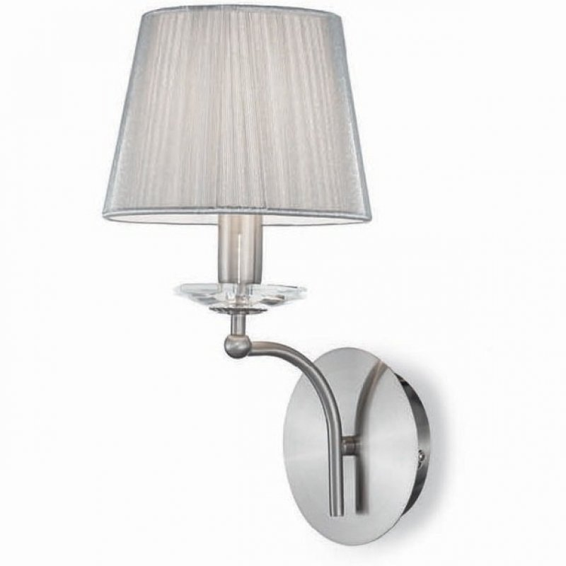 Wall lamp PARIS AP1 Silver