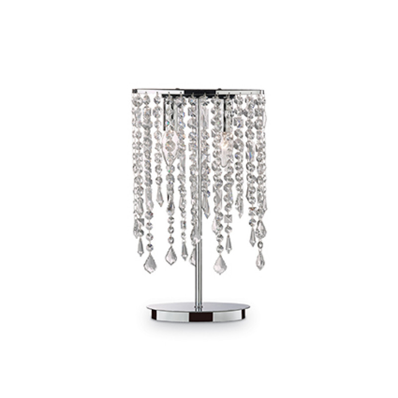 Table lamp RAIN CLEAR TL2 Chrome