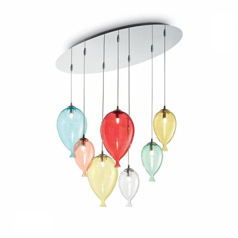 Pendant lamp CLOWN SP7 Multicolour