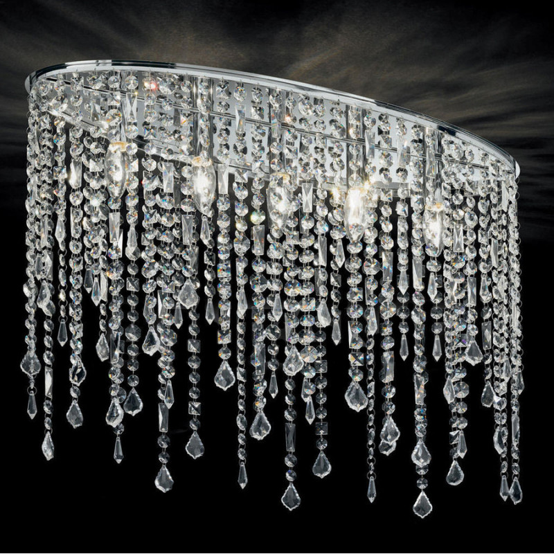 Ceiling lamp RAIN CLEAR PL5 Chrome