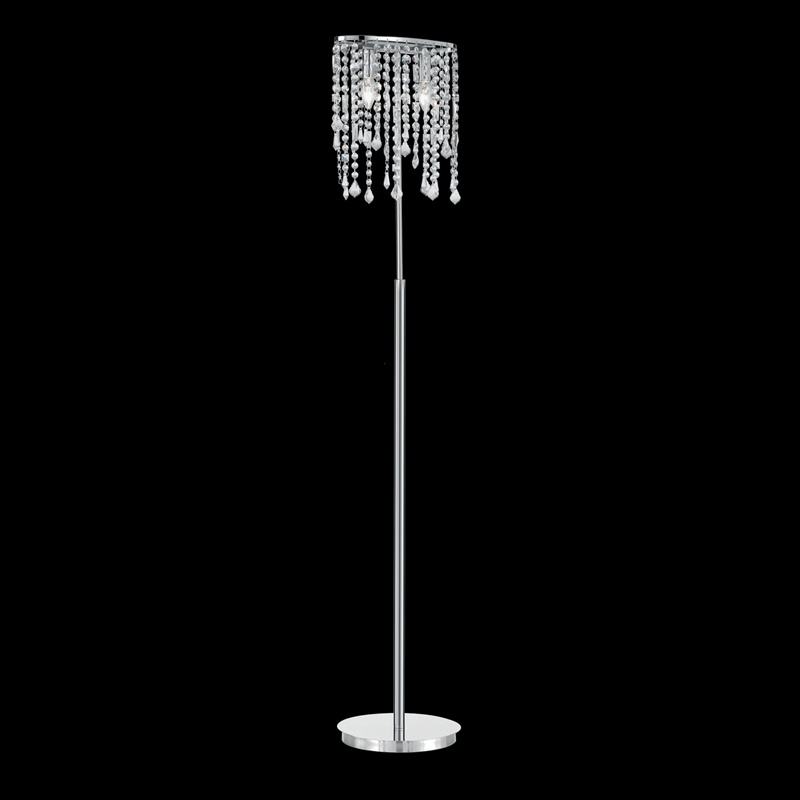 Floor lamp RAIN CLEAR PT2 Chrome