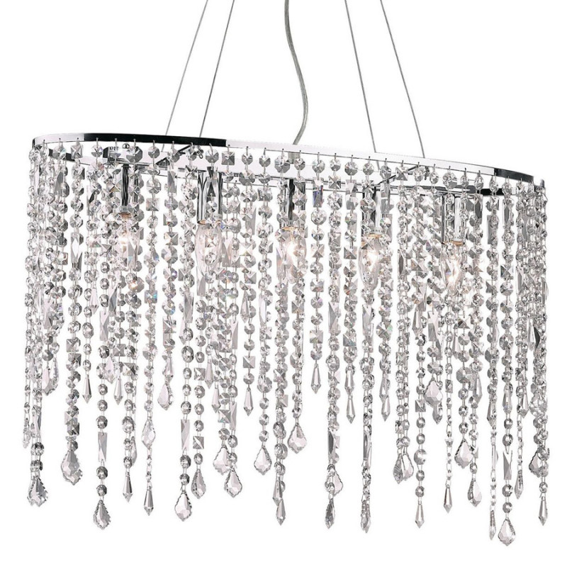 chandeliers RAIN CLEAR SP5 Chrome