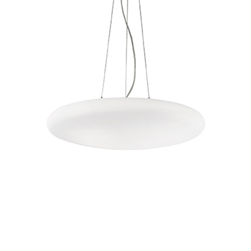 Pendant lamp SMARTIES BIANCO SP3 D50 White