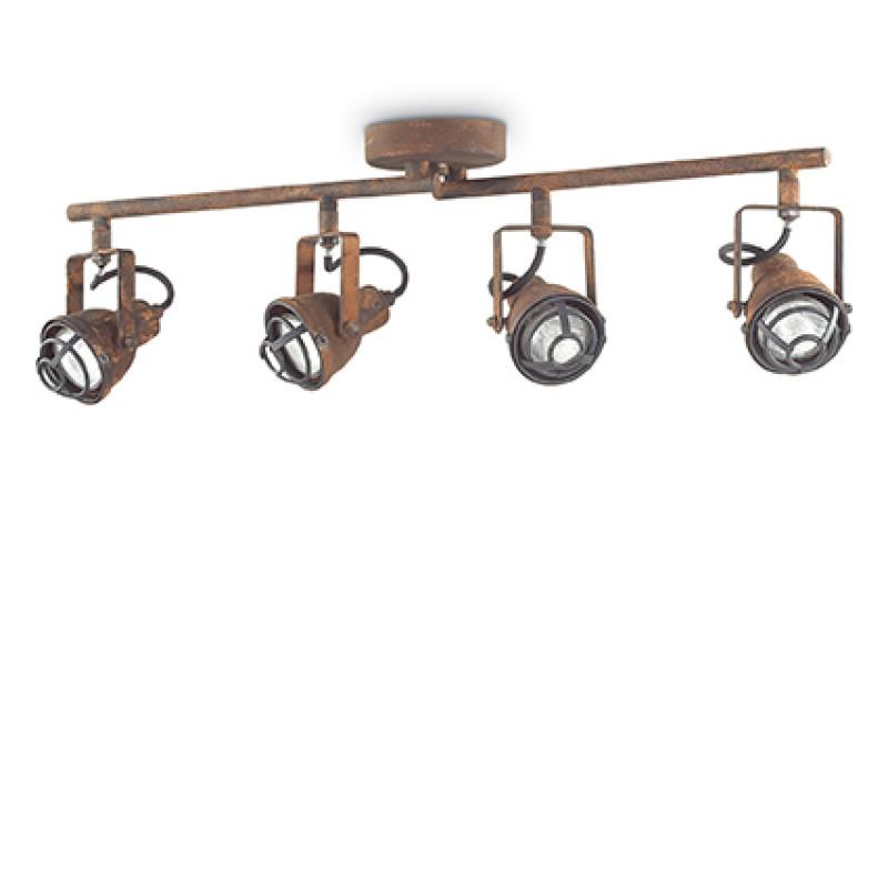 Ceiling lamp BOB MINI PL4 Corten