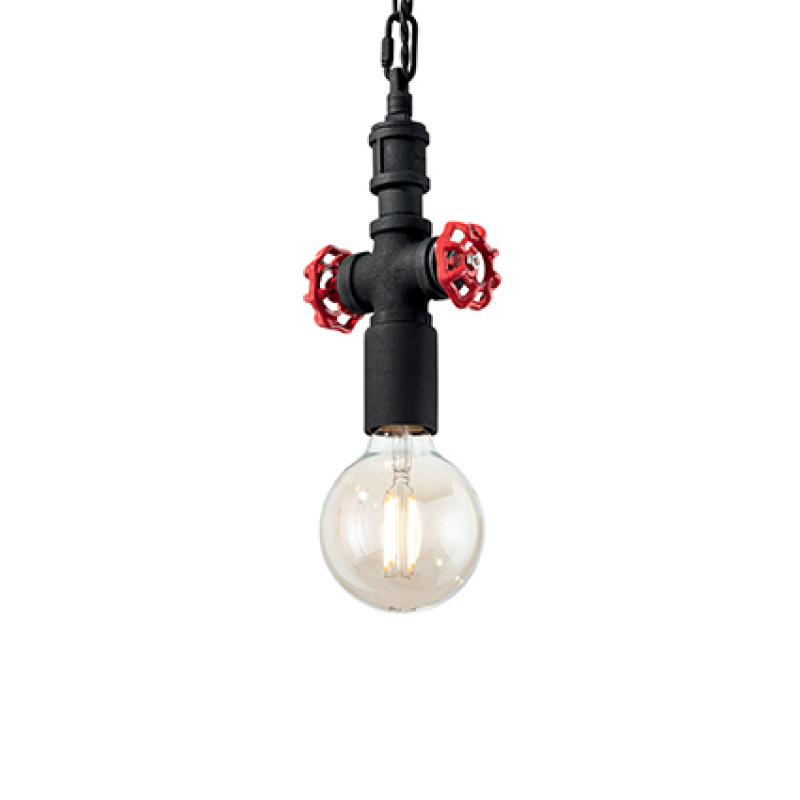 Pendant lamp PLUMBER SP1 Black