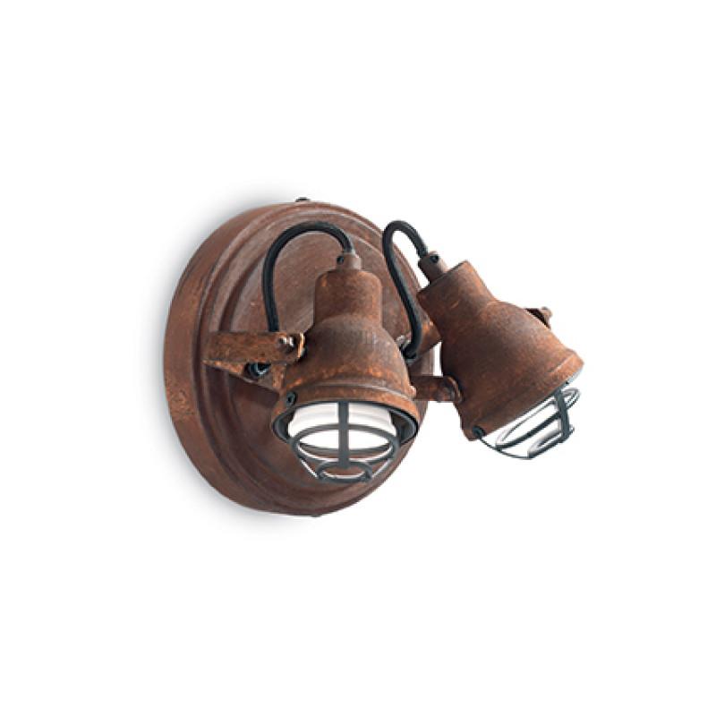Wall lamp BOB MINI AP2 Corten