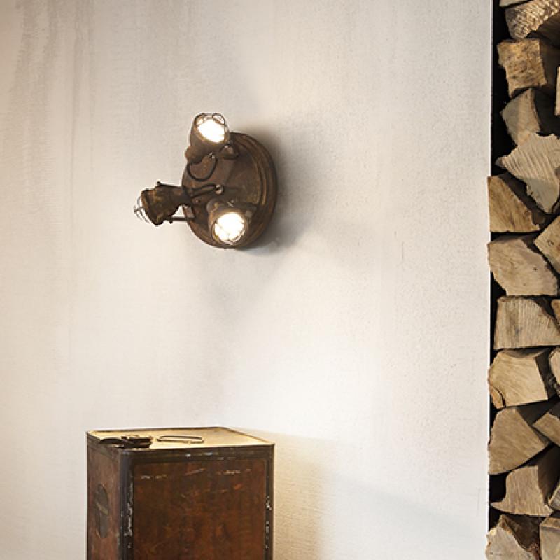 Ceiling lamp BOB MINI PL3 Corten
