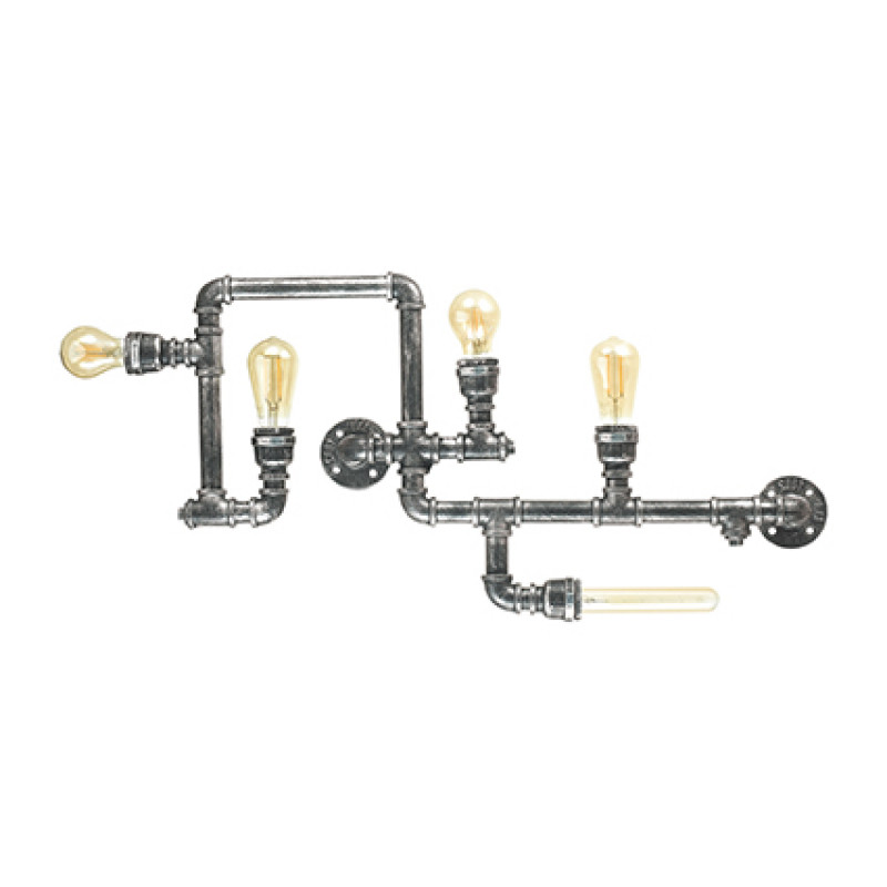 Wall lamp PLUMBER PL5 Black