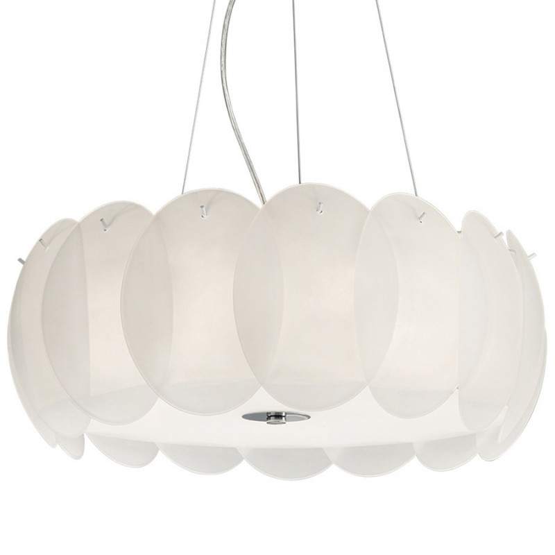 Pendant lamp OVALINO SP5 White