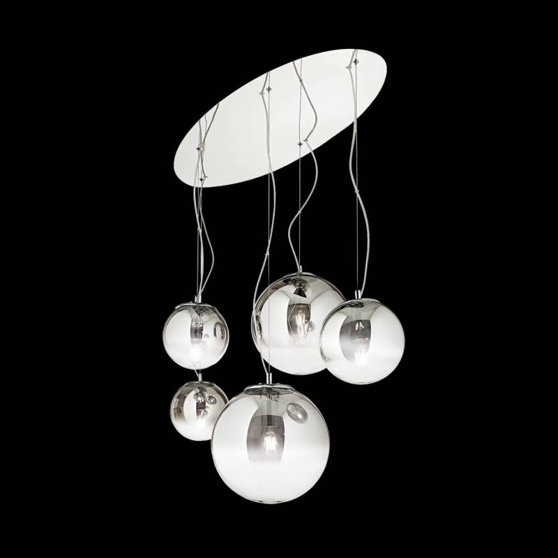 Pendant lamp MAPA FADE SP5 Chrome
