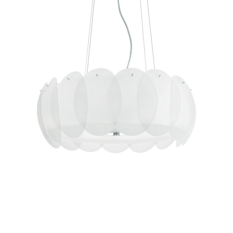 Pendant lamp OVALINO SP8 White