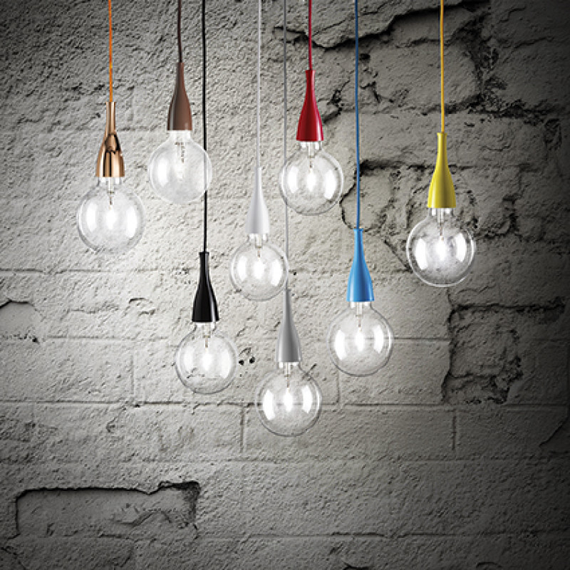 Pendant lamp MINIMAL SP1 Red