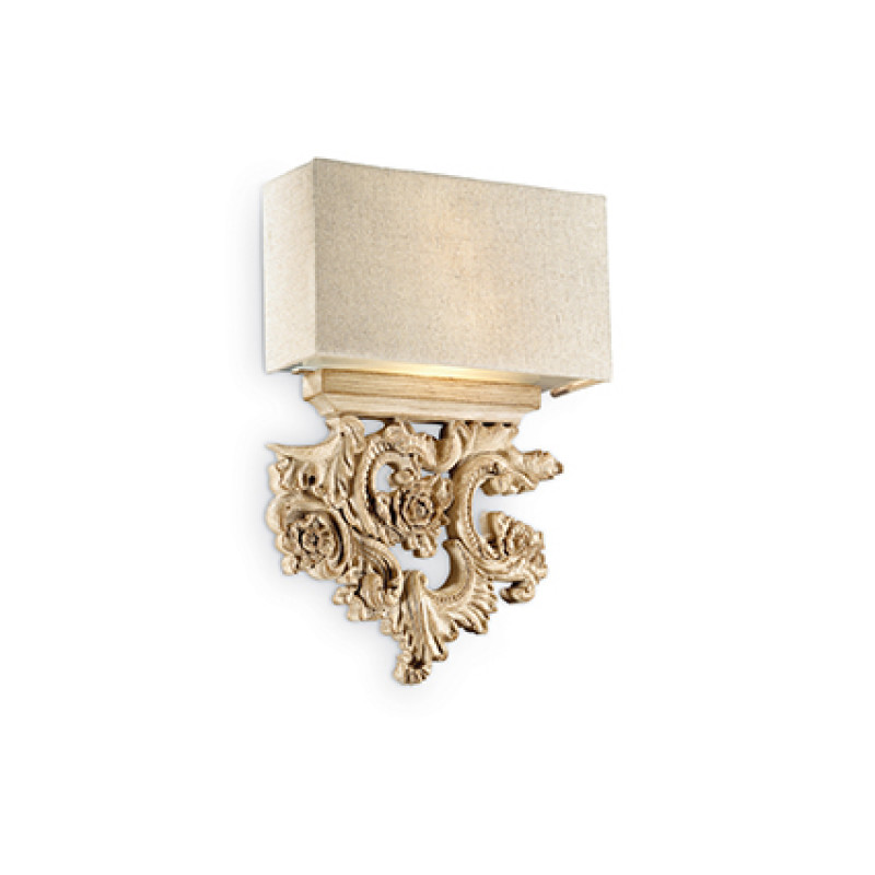 Wall lamp PETER AP2 Wood