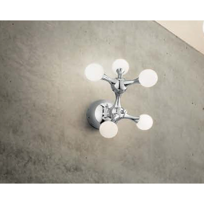 wall lamp NODI BIANCO AP5 Chrome