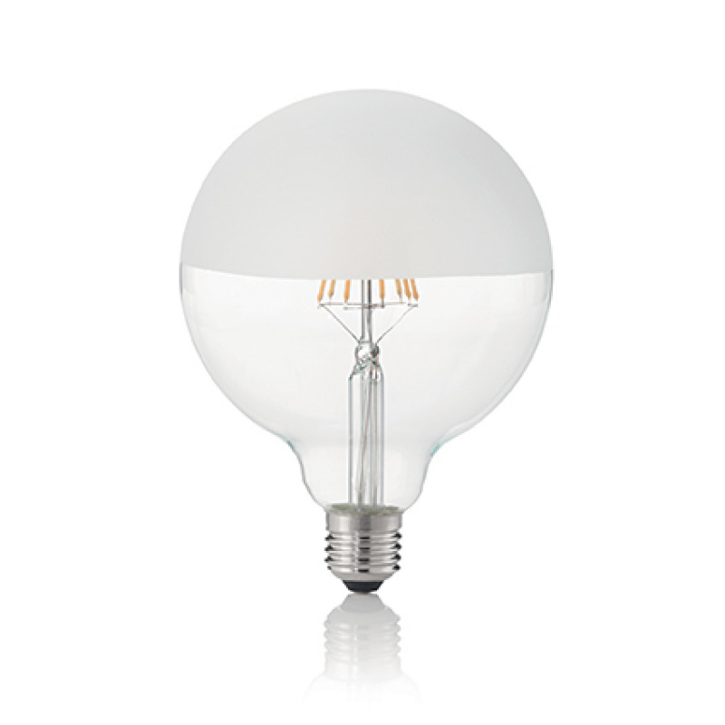 LED Bulb CLASSIC E27 8W GLOBO D125 SATINATA 3000K...